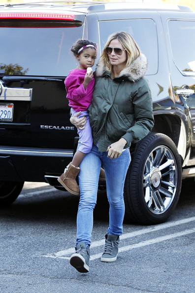 More Pics of Heidi Klum Bootcut Jeans (4 of 6) - Bootcut Jeans Lookbook - StyleBistro