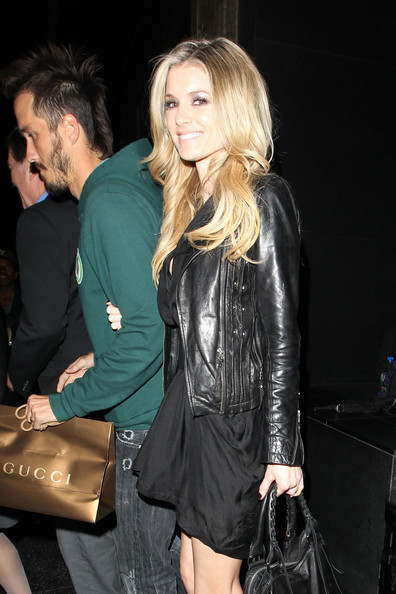 More Pics of Marisa Miller Leather Jacket (2 of 11) - Marisa Miller Lookbook - StyleBistro