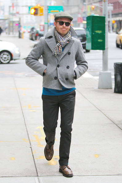More Pics of Jesse Tyler Ferguson Newsboy Cap (1 of 11) - Casual Hats Lookbook - StyleBistro