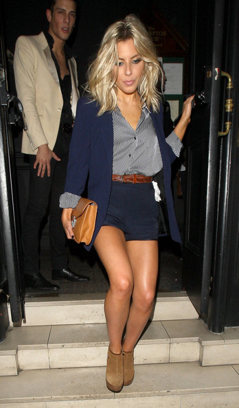 Mollie King High-Waisted Shorts