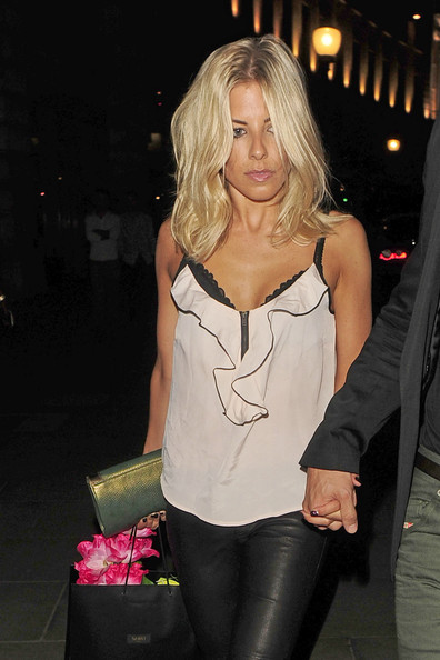 Mollie King Ruffle Blouse []