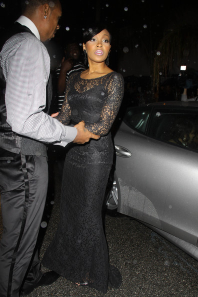 NBA star Shannon Brown and his girlfriend Monica brave an unusually ...