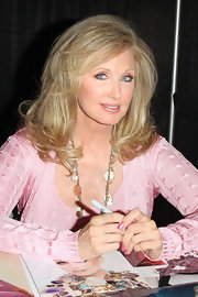 Wearing her hair in high-volume waves, Morgan Fairchild was as gorgeous as ever at the Comikaze Expo.