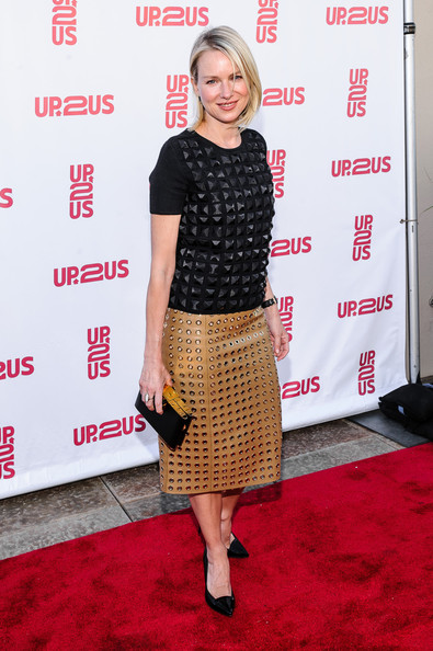 Naomi Watts Knee Length Skirt