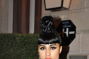 Natalia Kills Braided Bun
