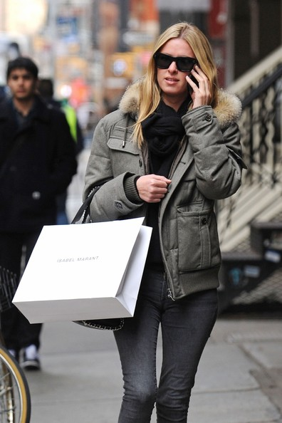 Nicky Hilton Bomber Jacket