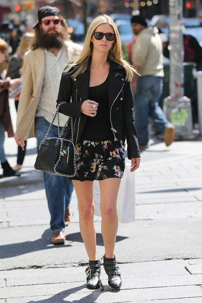 Nicky Hilton Leather Jacket