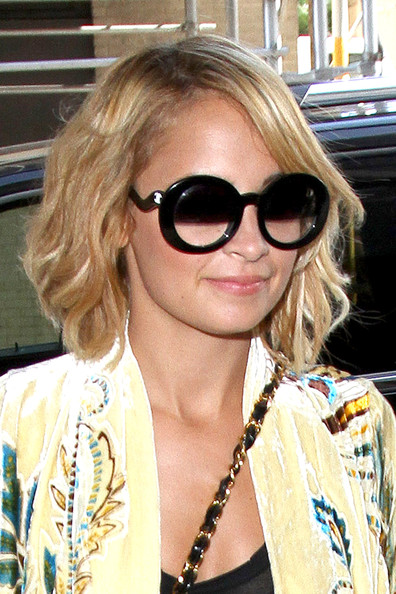 Nicole Richie Oval Sunglasses