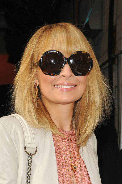 Nicole Richie Medium Layered Cut