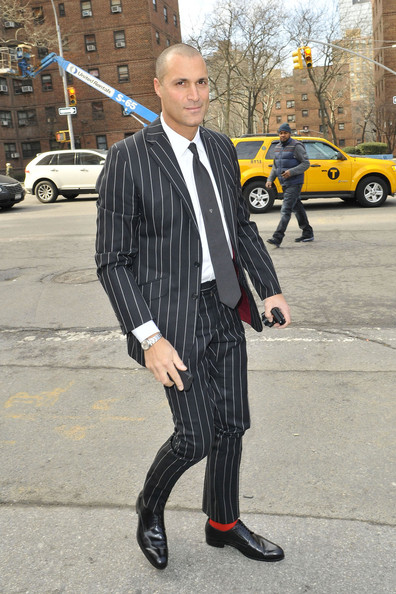 Nigel Barker at Fashion Week