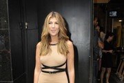 Nina Garcia was spotted looking very fashionable in Manhattan coming out of an interview with