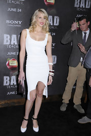 Lucy Punch turned heads at the 'Bad Teacher' premiere with this seductive little white dress.
