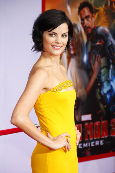 More Pics of Jaimie Alexander Short Wavy Cut (3 of 3) - Short Hairstyles Lookbook - StyleBistro