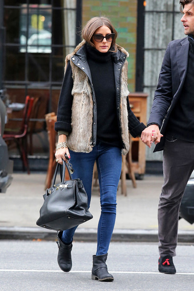 More Pics of Olivia Palermo Vest (2 of 6) - Olivia Palermo Lookbook - StyleBistro