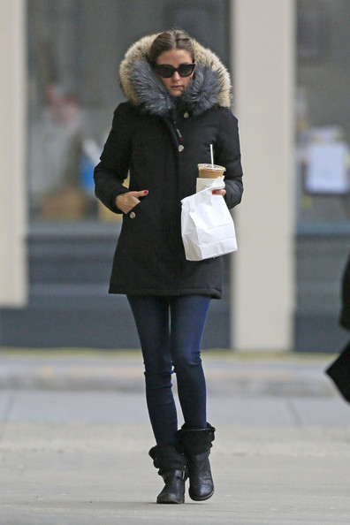 Olivia Palermo Bundles Up in NYC