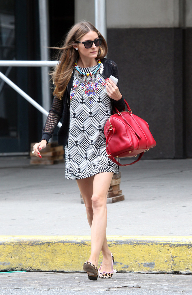 Olivia Palermo Goes Shopping in NYC