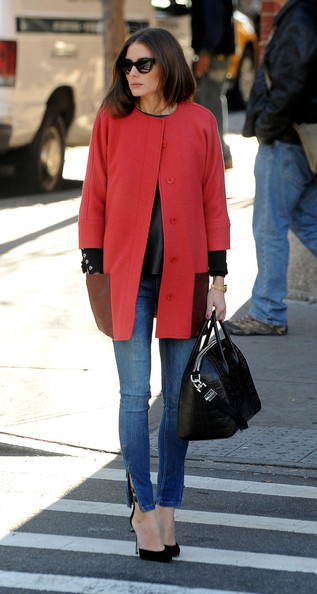 More Pics of Olivia Palermo Wool Coat (9 of 14) - Olivia Palermo Lookbook - StyleBistro