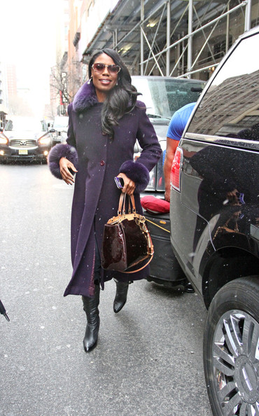 More Pics of Omarosa Manigault Wool Coat (3 of 9) - Omarosa Manigault Lookbook - StyleBistro