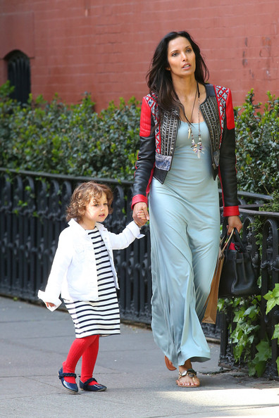 Padma Lakshmi Maxi Dress