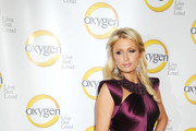 Paris Hilton Is Hollywood Royalty in a Satin Evening Dress