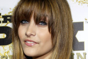 Paris Jackson Long Straight Cut with Bangs