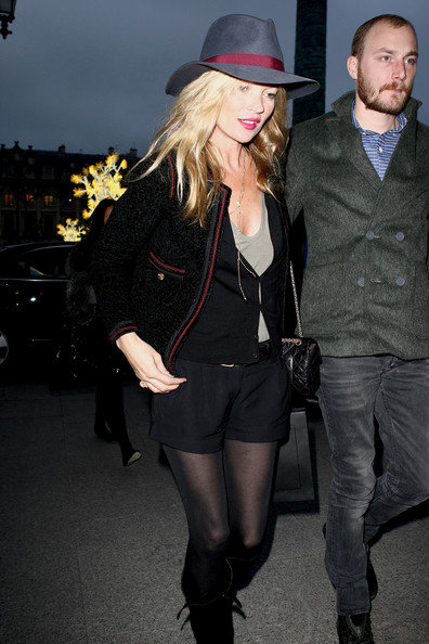 More Pics of Kate Moss Fedora (1 of 6) - Kate Moss Lookbook - StyleBistro