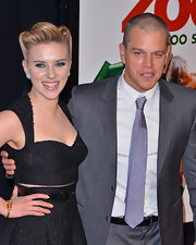 Scarlett Johansson wore a 19th century gold and diamond snake bracelet at the premiere of 'We Bought a Zoo.'