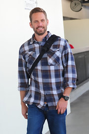 Paul walker fashion stylebistro for Wiz khalifa button down shirt