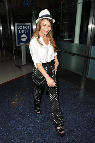 Paula Abdul High-Waisted Pants