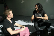 Perez Hilton and Russell Brand Photo