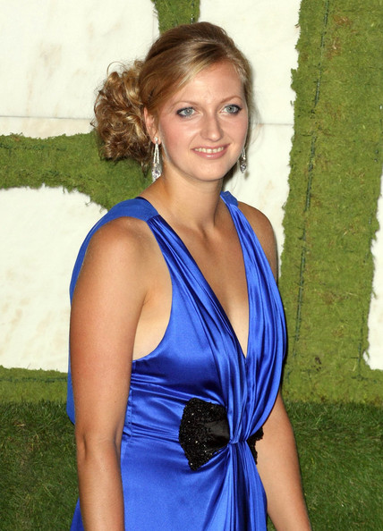 Petra Kvitova Dangling Diamond Earrings