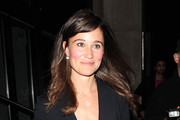 Philippa, aka Pippa Middleton, sister of Royal Princess-to-be Kate Middleton, at the engagement party of Holly Branson to Fred Andrews held at the Roof Gardens Club. The 27 year old will serve as  Maid of Honor at the Royal Wedding of Prince William and Catherine Middleton on April 29.