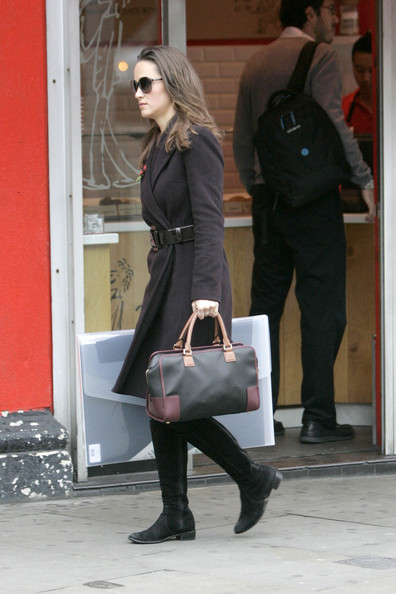 More Pics of Pippa Middleton Leather Belt (1 of 5) - Leather Belt Lookbook - StyleBistro