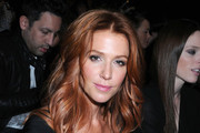 Poppy Montgomery Long Wavy Cut