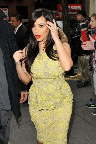 More Pics of Kim Kardashian Cocktail Dress (1 of 6) - Kim Kardashian Lookbook - StyleBistro