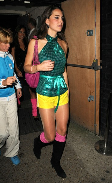 Her Party Outfit