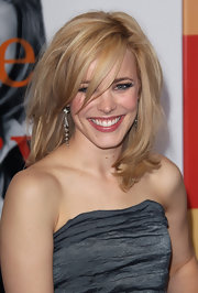 Rachel McAdams showed off her layered cut while hitting the premiere of 'Morning Glory'.