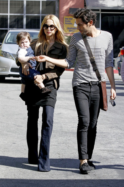 Rachel Zoe and Skyler Get Lunch