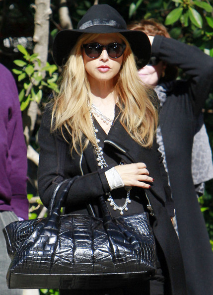 Rachel Zoe and Rodger Berman in Beverly Hills