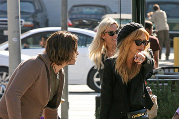 Rachel Zoe Roger Berman Rachel Zoe Grabs Lunch with Husband and Son in LA