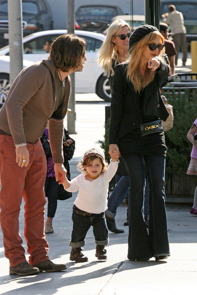 Rachel Zoe Grabs Lunch with Husband and Son in LA