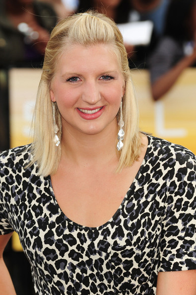 Rebecca Adlington Half Up Half Down