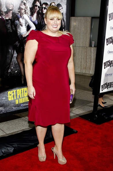 Rebel Wilson Peep Toe Pumps