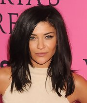 Jessica Szohr pumped up the volume for the Victoria's Secret Fashion Show.