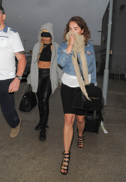 More Pics of Rita Ora Leather Pants (1 of 21) - Pants & Shorts Lookbook - StyleBistro