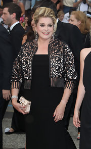 Catherine wowed on the red carpet in a dazzling diamond bracelet.