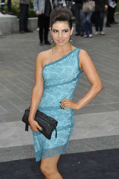 Roxanne Pallett One Shoulder Dress