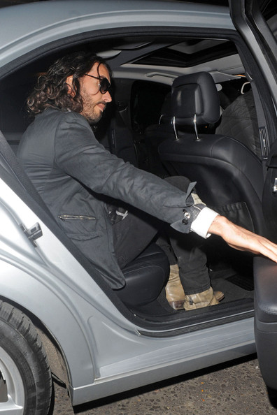 More Pics of Russell Brand Patterned Scarf (1 of 7) - Russell Brand Lookbook - StyleBistro []