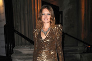 Russian model Natalia Vodianova arrives at Harper's Bazaar 'Women Of the Year Awards', held at One Mayfair in London.