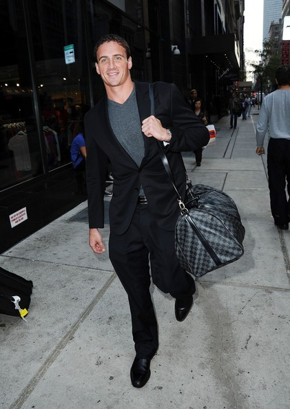 Ryan Lochte Spotted in NYC